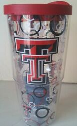 Tervis 24 oz Tumbler Texas Tech with lid $24.99