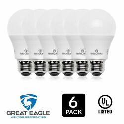 Great Eagle 100W Replacement Dimmable A19 LED Bulb Bright White 1550 Lm 3000K $13.95