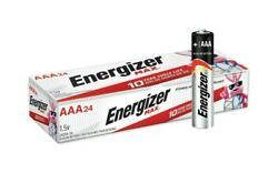 Energizer Max E92 VP AAA 1.5V Alkaline Button Top Batteries 24 pack 12 2029 Exp. $11.49
