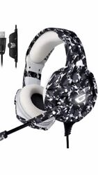 Onikuma Xbox One PS4 Surround Sound Nintendo Switch Camo Headset.