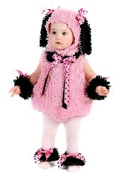 Pink Poodle Costume Baby Toddler Puppy Dog Halloween Fancy Dress $20.00