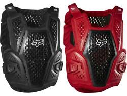 Fox MX Raceframe Roost Black Red Youth Chest Protector Guard Deflector MX ATV 20 $79.95