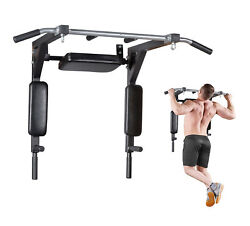 Pull Up Bar Wall Mounted Chin Up Bar Fitness Home Gym Power Full Body Training $49.99