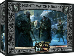A Song of Ice and Fire Miniature Game Night#x27;s Watch Heroes I NEW $28.00