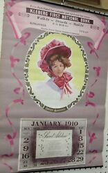 Vintage Calendars (1897- 1959) Eight Decorative Calendars ideal for she shedetc
