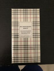 BURBERRY BRIT BY BURBERRY FOR WOMEN EDP SPRAY 3.3 OZ  100 ML In Plastic
