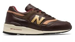 New Balance 997 Horween Leather Made In USA Brown Tan Men Lifestyle rare M997PAH