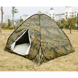 Waterproof 3 4 Person Automatic Instant Pop Up Outdoor Camping Tent Family Camo $27.18