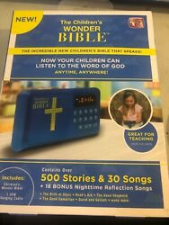 NEW - The Children's Wonder Bible As Seen On TV 500 Stories & 30 Songs WB061124
