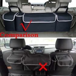 Multi-use Car Seat Back Organizers High Capacity Oxford Fit Interior Accessories