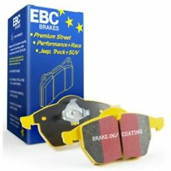 EBC Brakes DP42130R Yellowstuff Street And Track Front Brake Pad Set For 328i