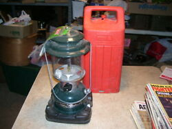 Lot #1 Vintage 1989 Coleman Powerhouse Camping Lantern in Red Case