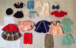 Vintage Ideal  Tammy Pepper & Penny Brite doll clothes 18 Pieces Total-1960s