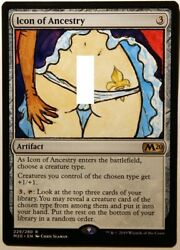 Icon of Ancestry X1 Hand Painted Art Alter MTG Magic Sexy Anime Girl