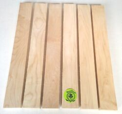 "34"" x 2"" x 16"" HARD MAPLE Hardwood Lumber made by Wood-Hawk Pack of 6 or 10 $24.45"
