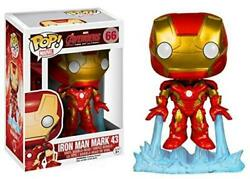 Flawed Box Funko Pop! Marvel Avengers 2 Iron Man Mark 43 Pop #66 Vinyl Figure
