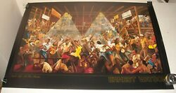 ROLLED EARNEST WATSON - NIGHT LIFE at the STUDIO ART PRINT POSTER 24 x 36