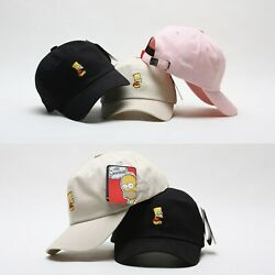 Licensed Unisex Mens Womens The Simpsons Bart Simpson Baseball Cap Trucker Hats