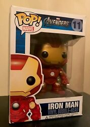 Funko Pop! Iron Man Avengers (Mark VII) Vinyl Vaulted Bobble-Head Marvel Rare