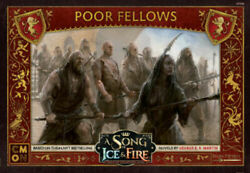 A Song of Ice and Fire Miniatures Game Lannister Poor Fellows NEW $28.00