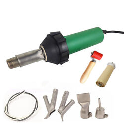 1600w Vinyl Floor Plastic Welder Hot Air Gun Heat Gun Blast Welding Tool $171.60