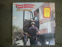 JERRY REED---EAST BOUND AND DOWN---VINYL ALBUM.