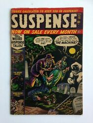 Suspense #15 VG- UNRESTORED SEE DESCR. FOR COMBINING WINS