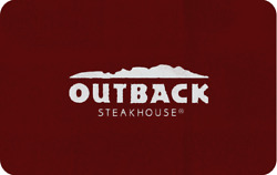 $100 In Outback Steakhouse Gift Card Bonefish Grill Carrabba's Fleming's
