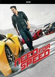 Need For Speed (DVD) Aaron Paul NEW Factory Sealed Free Shipping $11.97
