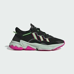 Adidas Originals Ozweego Black Lime Pink Women Lifestyle Sneakers gym new EE5714 $100.00