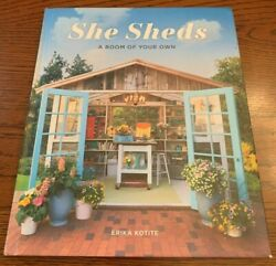 She Sheds : A Room of Your Own by Erika Kotite (2017 Hardcover Book)Garden Decor