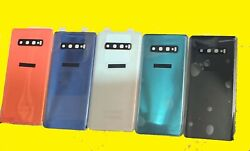 OEM Battery Cover Glass Housing Back Door Ta For Samsung Galaxy S10 S10Plus S10e