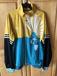 Vntg 90's LRG Lifted Research Group Track Jacket Embroidered  Africa Mens XXXL