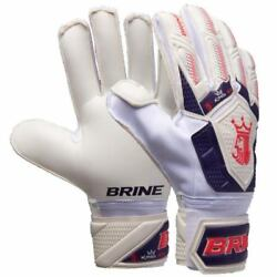 Brine King Match 3X WPL Size 10 Soccer Goalkeeper Gloves Finger Save Goalie 3mm $25.99
