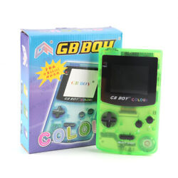 GB BOY Classic Color Game Console with backlit 66 built-in games Free Ship