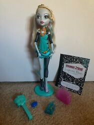 Monster High Doll Schools Out Basic Lagoona Blue Stand Purse Journal 2nd Wave
