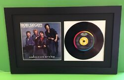 45 RPM Picture Frame Displays Sleeve & 7