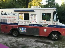 Turnkey Vintage Chevy P30 Soft Serve Truck  Mobile Ice Cream Business for Sale