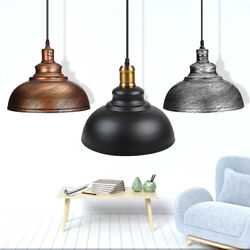 Industrial Rustic Ceiling Light Hanging Pendant Lamp Shade Fixture Chandeliers $20.73