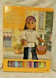 American Girl Julie Fashion Studio All She Needs to Create Her Own-  RETIRED EUC