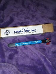 Vintage Park Tool Co USA CC-1 Bicycle Chain Checker Gauge Tool New in box