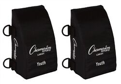 Champion Sports Baseball Softball YOUTH Catcher#x27;s Knee Savers Support Pads $15.49