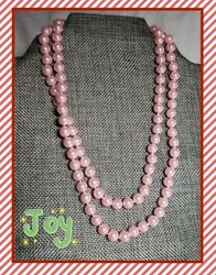 Pink Pearl Necklace! 34