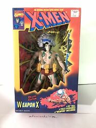 "ToyBiz WEAPON X Marvel Comics Deluxe Edition 10"" X-Men Action Figure Wolverine"