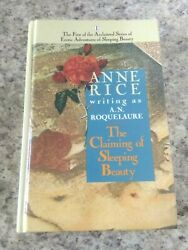 THE CLAIMING OF SLEEPING BEAUTY Anne Rice A.N. Roquelaure RARE Hardcover HC