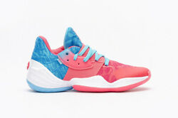 Adidas Basketball James Harden Vol. 4 Bright Cyan Real Pink Men Hoops new EF0998