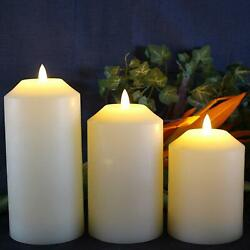 NEW Flameless LED Candle Battery Electric 3D Light Flicker Electric Fake Timer $23.27