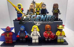 Brand New Lot of DC Legends of Tomorrow Minifigures White Canary Atom Steel