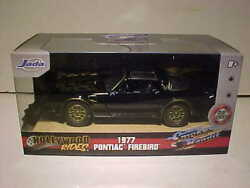 SMOKEY and the BANDIT 1977 Pontiac Firebird Trans Am Diecast 1:32 Jada 5 inch