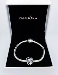 NEW AUTHENTIC PANDORA 925 Openwork Dreamy Dragonfly Charm Pendant 797025CZ